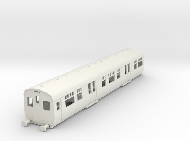o-87-cl306-driver-trailer coach-1 in White Natural Versatile Plastic