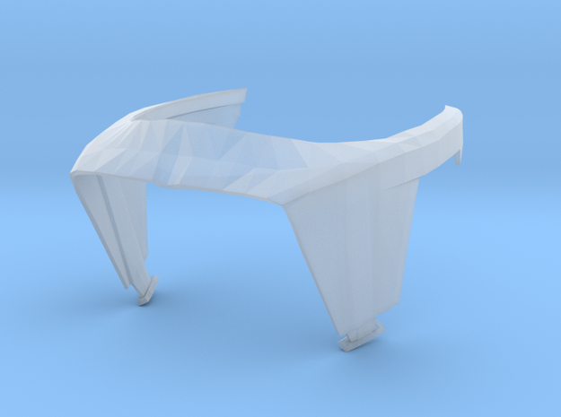 Phase 1 Visor 1:12 Scale in Smoothest Fine Detail Plastic