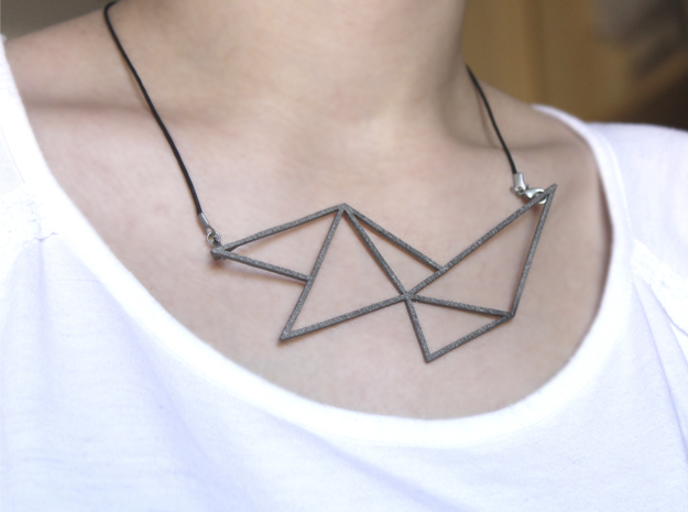 Sharp Necklace - Crystalline Series 3d printed