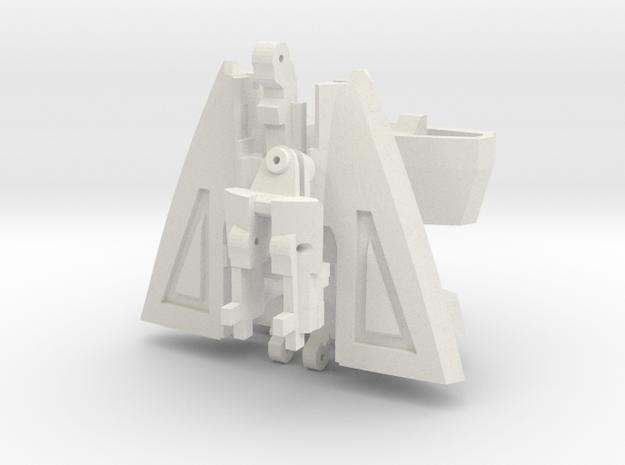 VF-9 HIPS ASSY in White Natural Versatile Plastic: 1:60