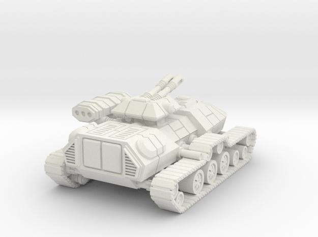 1/72 Rebel T3-B Heavy Attack Tank in White Natural Versatile Plastic