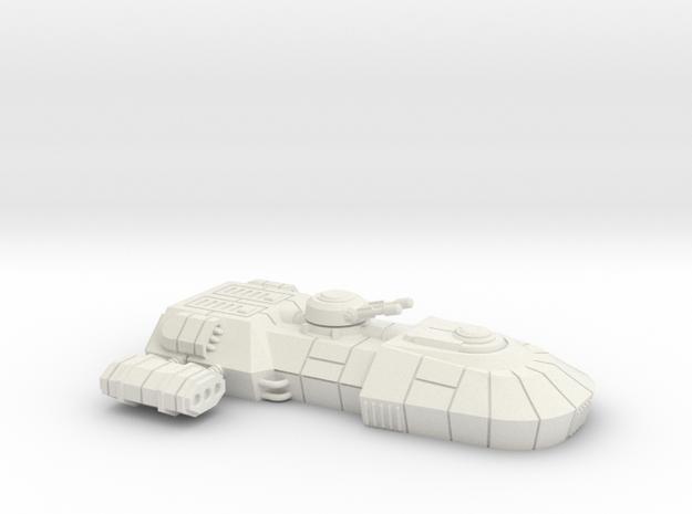 1/72 Rebel T1-B Tank in White Natural Versatile Plastic
