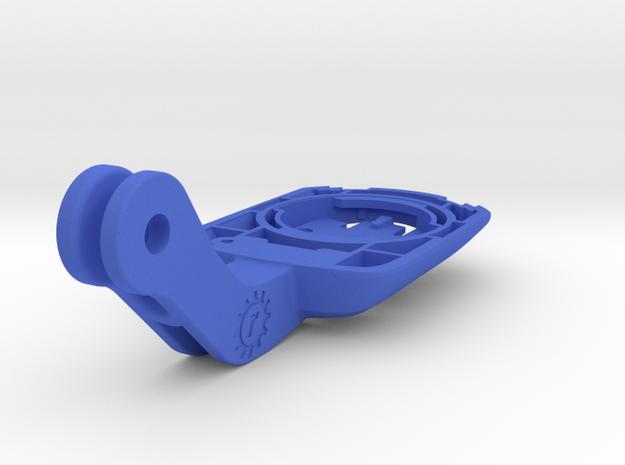 Wahoo BOLT Aero Bontrager / BMC Mounts in Blue Processed Versatile Plastic: Medium