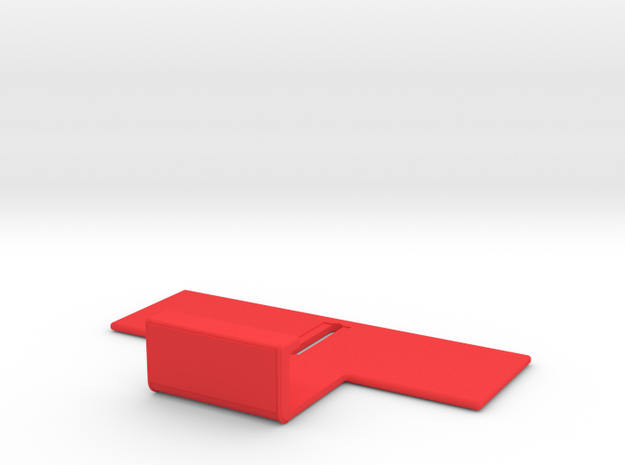 "NEODiVR ""poKet"" Adjustable Phone Bracket (2 of 3) in Red Processed Versatile Plastic"