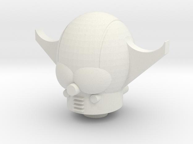 Armtron Head For Biotron in White Natural Versatile Plastic