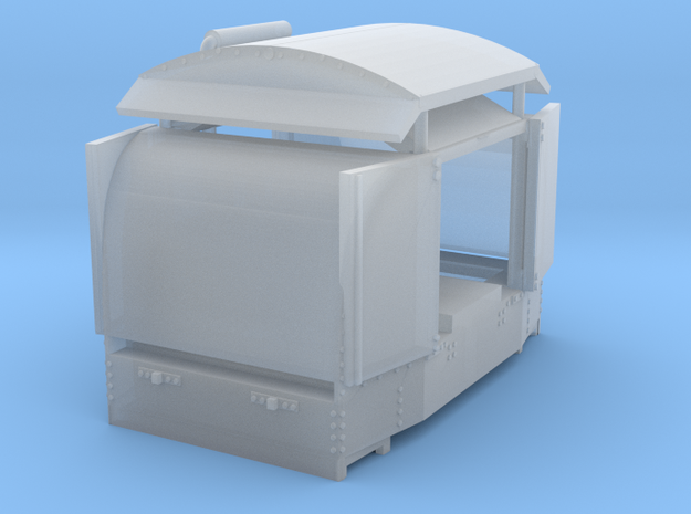 a-1-144fs-protected-simplex-both-door-open1-plus in Smooth Fine Detail Plastic