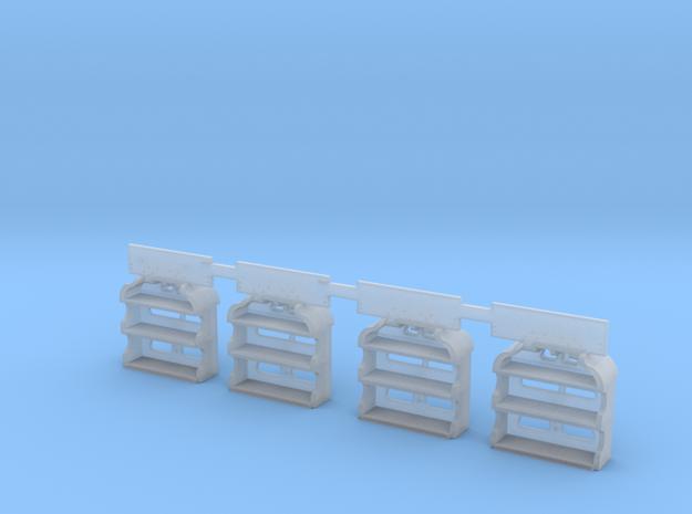New & Improved HO LV caboose steps