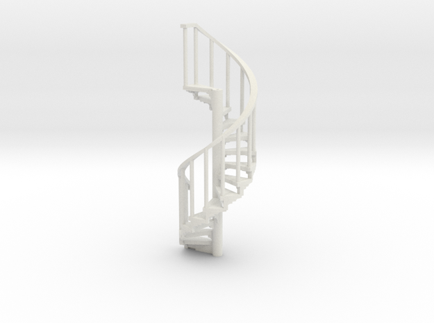 s-76-spiral-stairs-market-lh-1a in White Natural Versatile Plastic