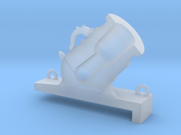 1/48 Mortier de 12£ -1765- Demo in Smooth Fine Detail Plastic
