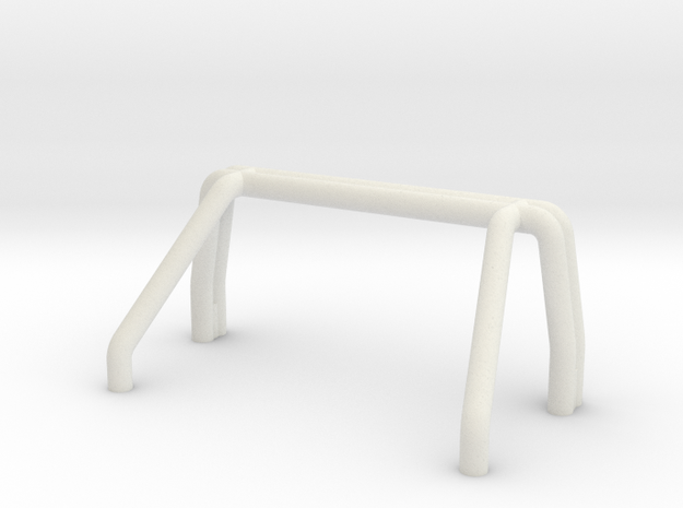 F250 Roll Bar-no lights in White Natural Versatile Plastic