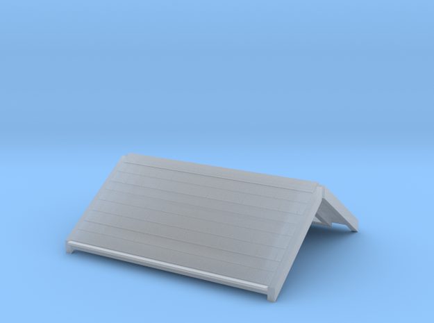 Freshwater signalbox roof 4mm/ft in Smooth Fine Detail Plastic