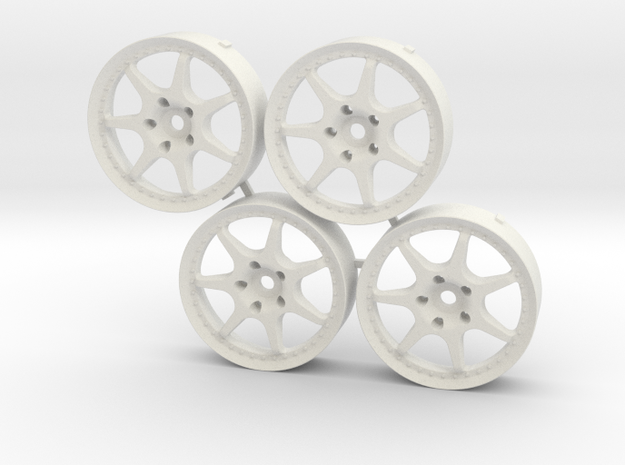 MST Enkei Racing S Changeable inserts in White Natural Versatile Plastic