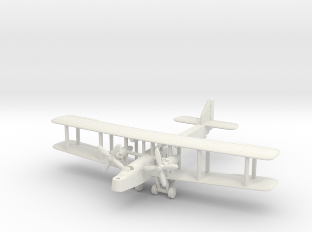 Handley Page H.P.35 Clive 6mm 1/285 in White Natural Versatile Plastic