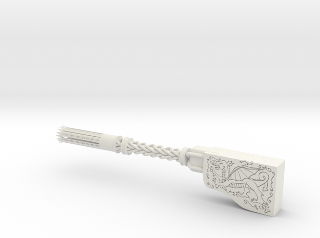 Constantine Dragon's Breath Holy Shotgun part 3 in White Natural Versatile Plastic