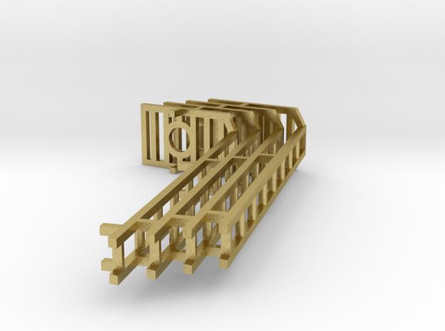 ladders 4 8ft BRASS