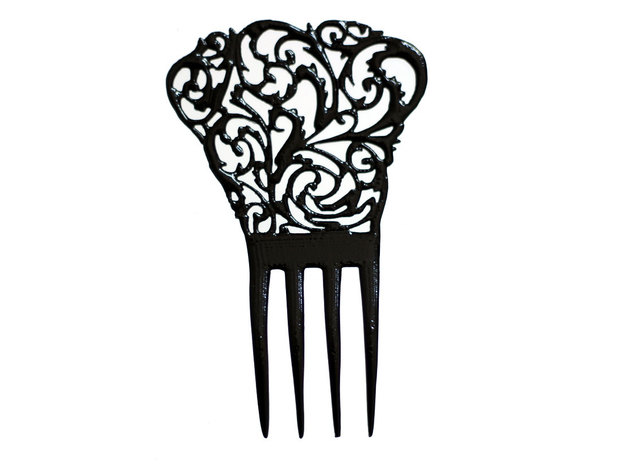 Bonaz Nouveau Hair Comb in White Strong & Flexible
