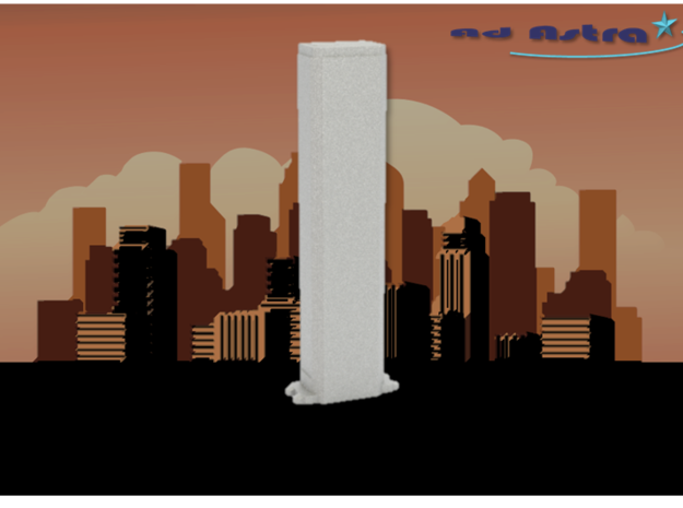 AON Center - Chicago (1:4000) in White Natural Versatile Plastic