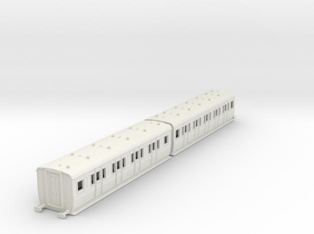 o-87-ecjs-artic-corr-1st-3rd-coach-twin in White Natural Versatile Plastic