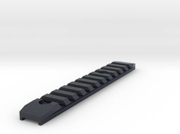 SRS long picatinny rail in Black Professional Plastic