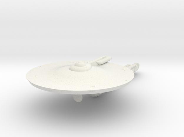 2500 Saladin mk5a Pontiac class TOS in White Natural Versatile Plastic