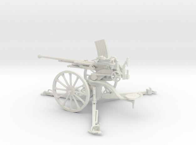 1/30 IJA Type 98 20mm anti-aircraft gun in White Natural Versatile Plastic