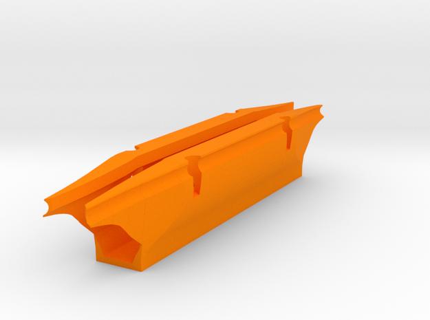 Laguna 18  Spread slot=134mm in Orange Processed Versatile Plastic