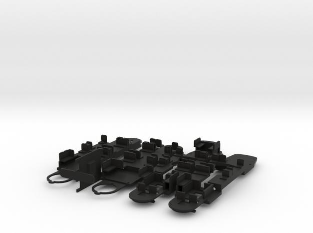 Antrieb Fahrwerk GT8N2 Nürnberg von Rietze / Hödl in Black Natural Versatile Plastic
