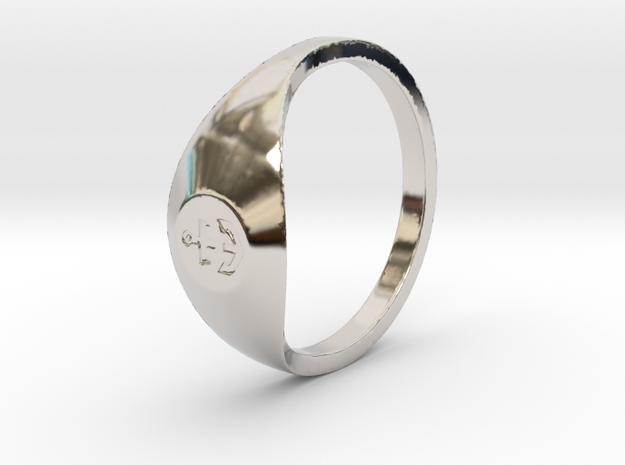 Nautical: Custom Size 10 in Platinum: Medium