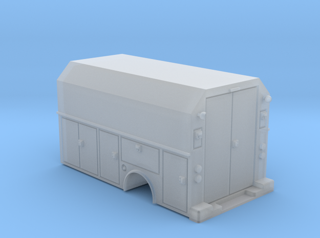 MOW Service Box Bed Hollow 1-87 HO Scale