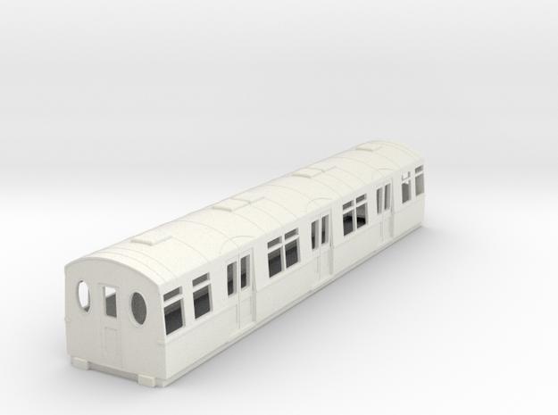 o-87-district-f-centre-trailer-coach in White Natural Versatile Plastic