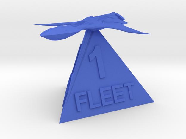 Xindi Fleet 1 in Blue Processed Versatile Plastic
