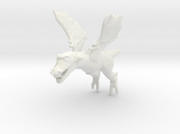 Omni Scale Space Dragon Baby Male MGL in White Natural Versatile Plastic