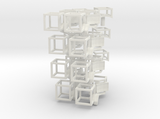 void magic cube6_full kit.33 in White Natural Versatile Plastic