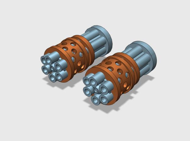 Prime Agressor : Gat Barrels in Smooth Fine Detail Plastic