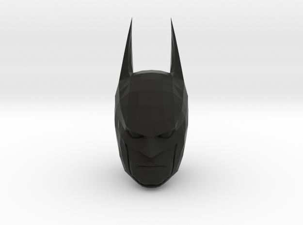 Batman Head in Black Natural Versatile Plastic