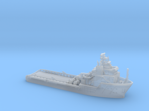 Maersk Provider_1/1250_WL_V11_with Winches in Smoothest Fine Detail Plastic