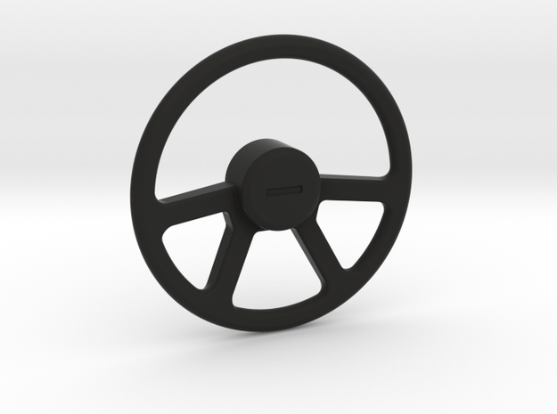 Suzuki Samurai Steering Wheel in Black Natural Versatile Plastic