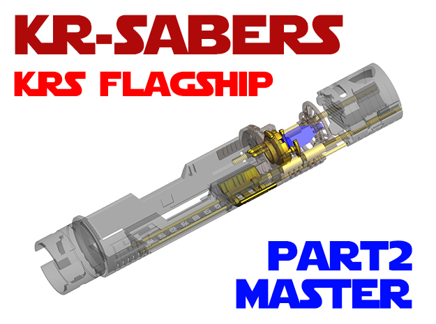 KRS Flagship - Master Chassis Part2 in White Natural Versatile Plastic