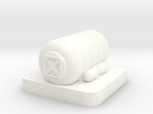 Mini Space Program, Inflatable Habitat in White Processed Versatile Plastic