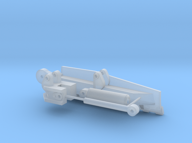 Slope board for 1:50 D6T in Smooth Fine Detail Plastic