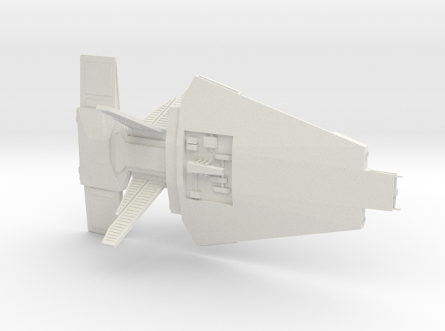 Talarian - Warship in White Natural Versatile Plastic