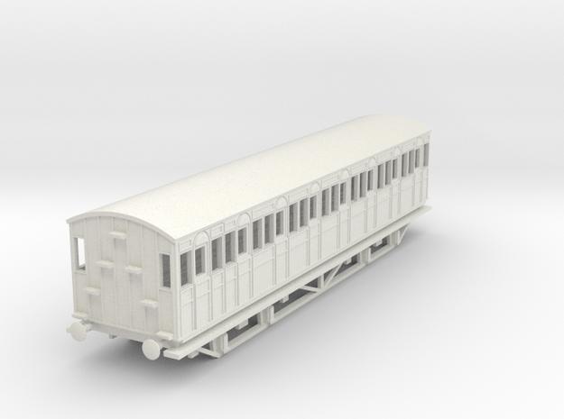 o-76-metropolitan-8w-short-brake-coach-mod in White Natural Versatile Plastic