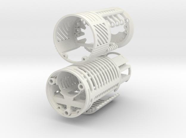 Graflex Knight Chassis - Variant 2 - Part 1 in White Natural Versatile Plastic