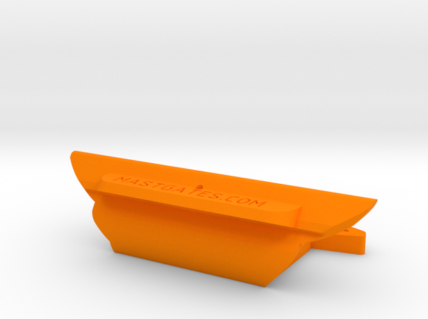 "2  7/8"" slot: DM5 WWP-19 & Sanibel-18 (v1.2) in Orange Processed Versatile Plastic"