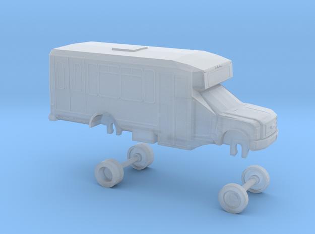 N Scale Bus Ford E450 Eldorado Aerotech Omnitrans in Smooth Fine Detail Plastic