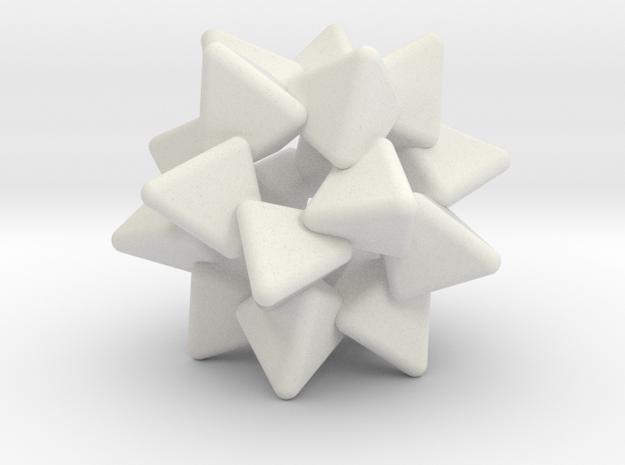 Number Eleven in White Natural Versatile Plastic