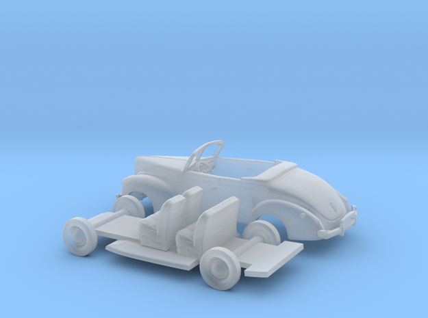 1/160 1940 Ford Eight Convertible Kit in Smooth Fine Detail Plastic