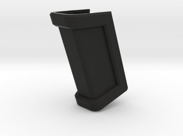 Glock 17 Magazine Grip - Long in Black Natural Versatile Plastic