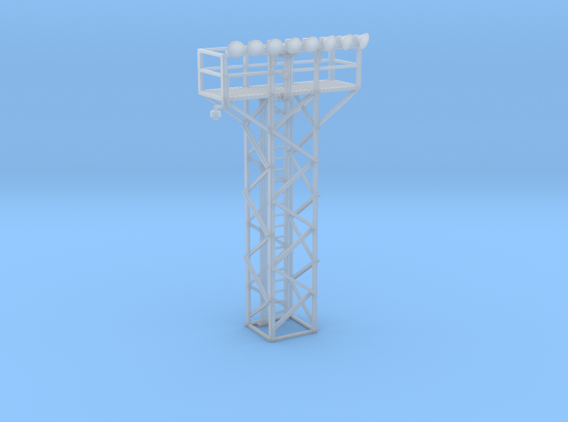 Light Tower Top With Single Light Assembly 1-87 HO in Smooth Fine Detail Plastic
