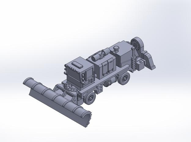 OK H gen2 ver2 plow rev2 in Smoothest Fine Detail Plastic: 1:200